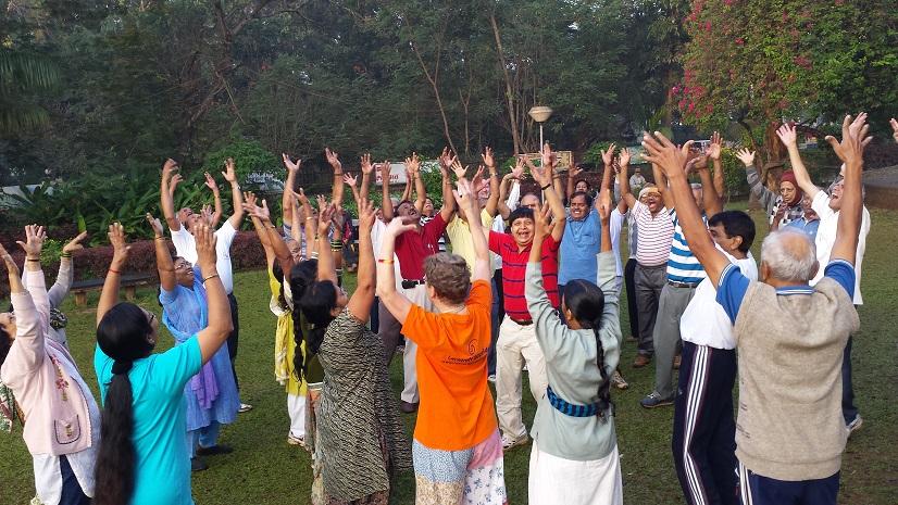 Lachklub in Indien - eine Vision für Altona!