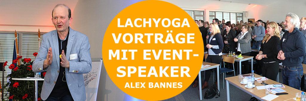 Lachyoga Hamburg - Event Speaker Alex Bannes